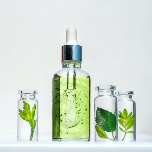Natural cosmetic product, serum for the care and beauty of skin and hair
